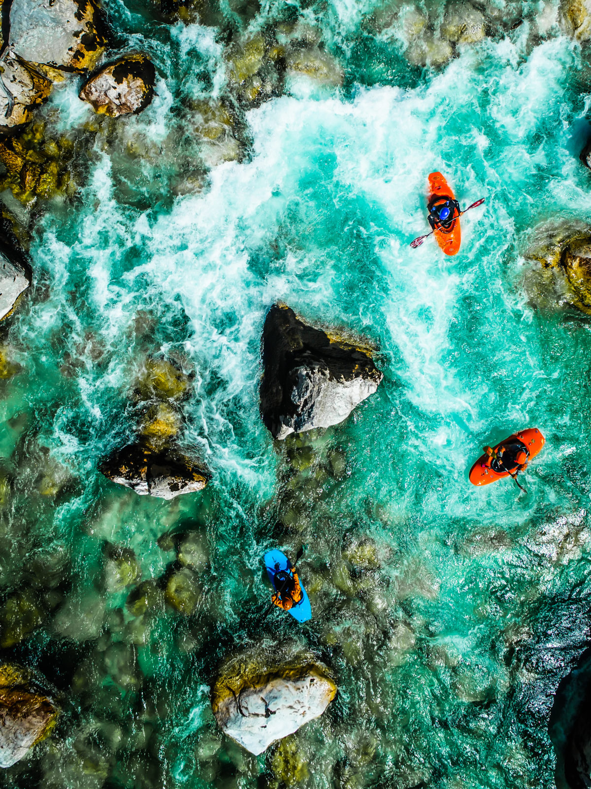 Active holidays in Slovenia, kayak