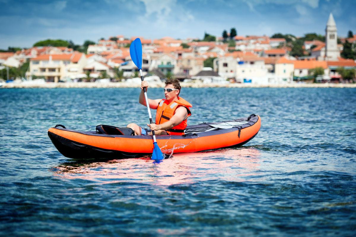 Active holidays in Croatia, kayak