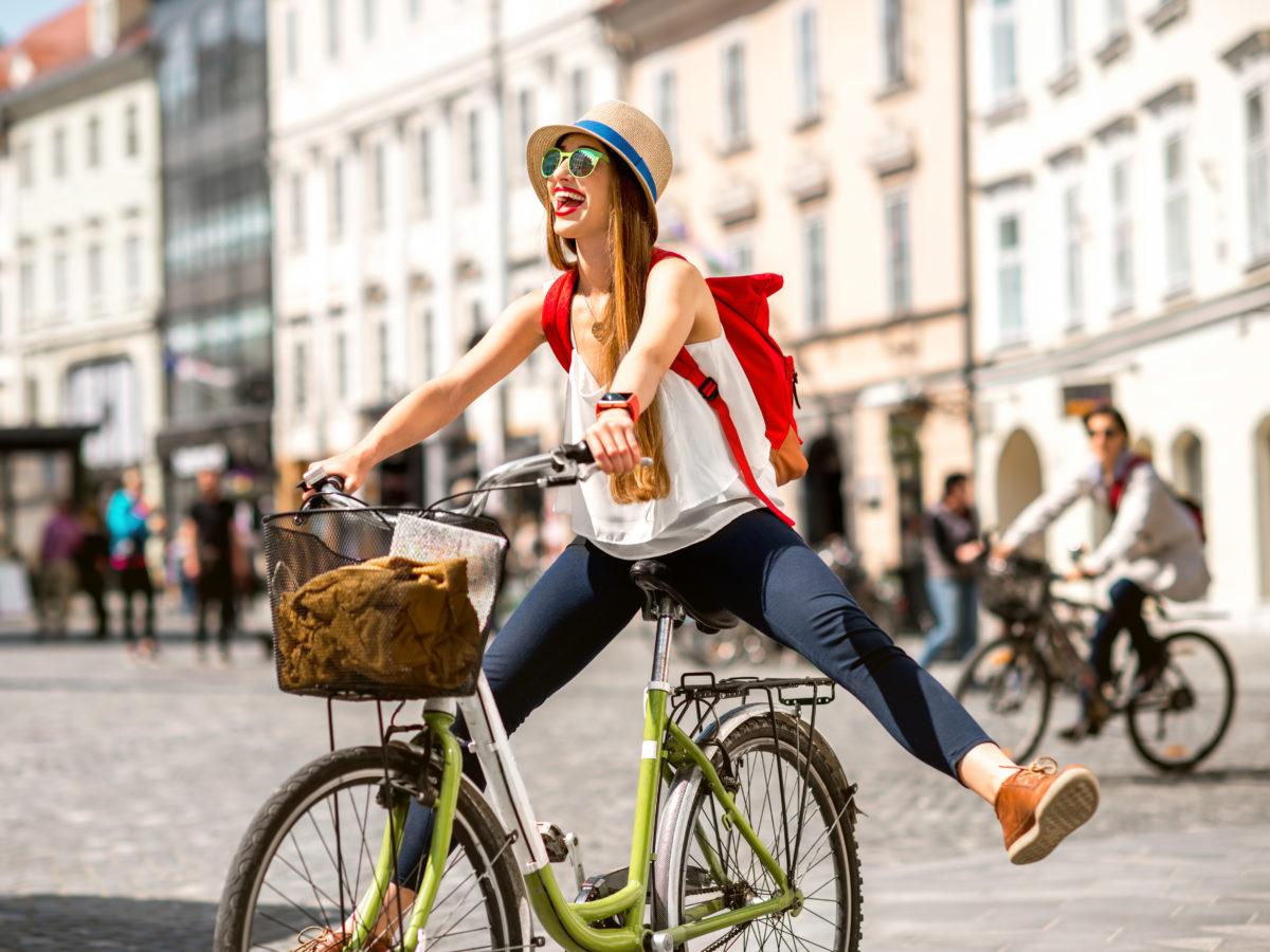 Ljubljana, cyclling, Slovenia