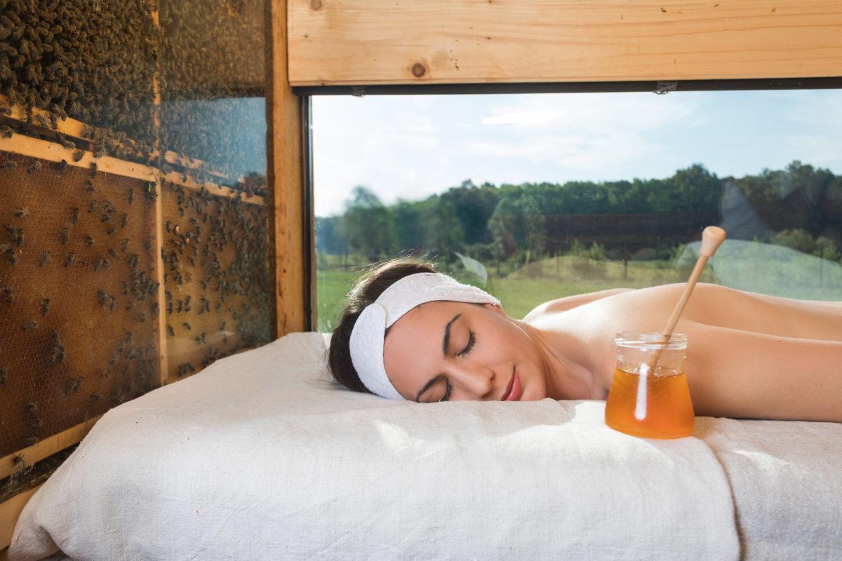 Honey glamping, honey massage, Slovenia