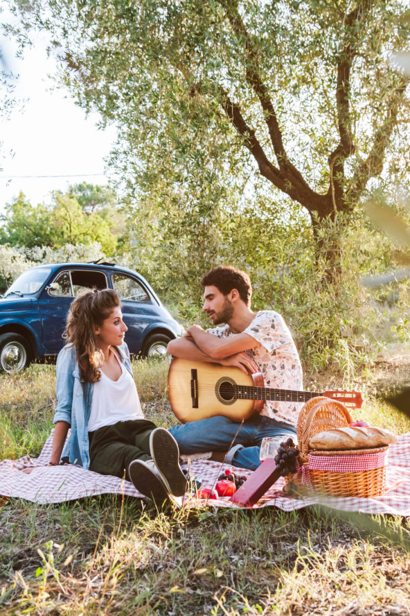 Romantic luxurious experience amongst the olive trees