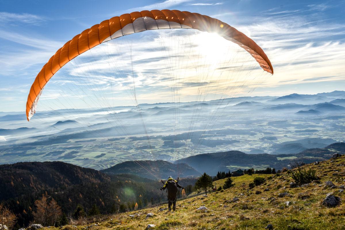 Paragliding, active Slovenia