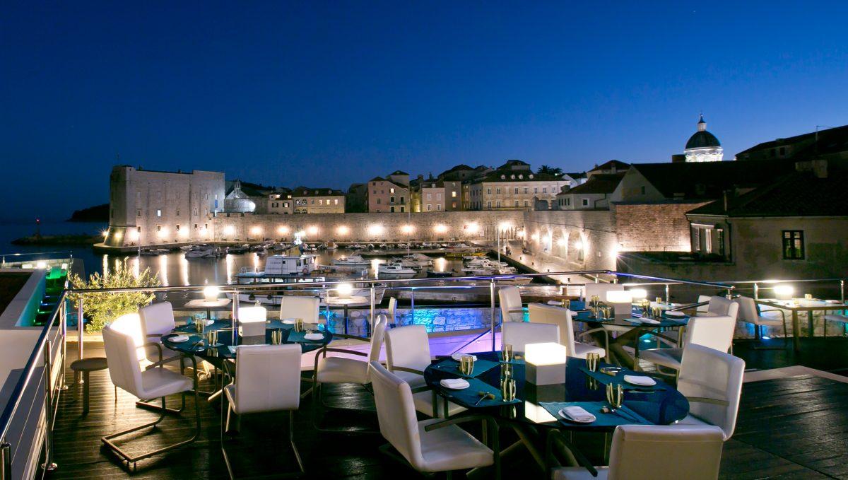Food tour Croatia, Michelin star restaurant, 360 Dubrovnik, Croatia
