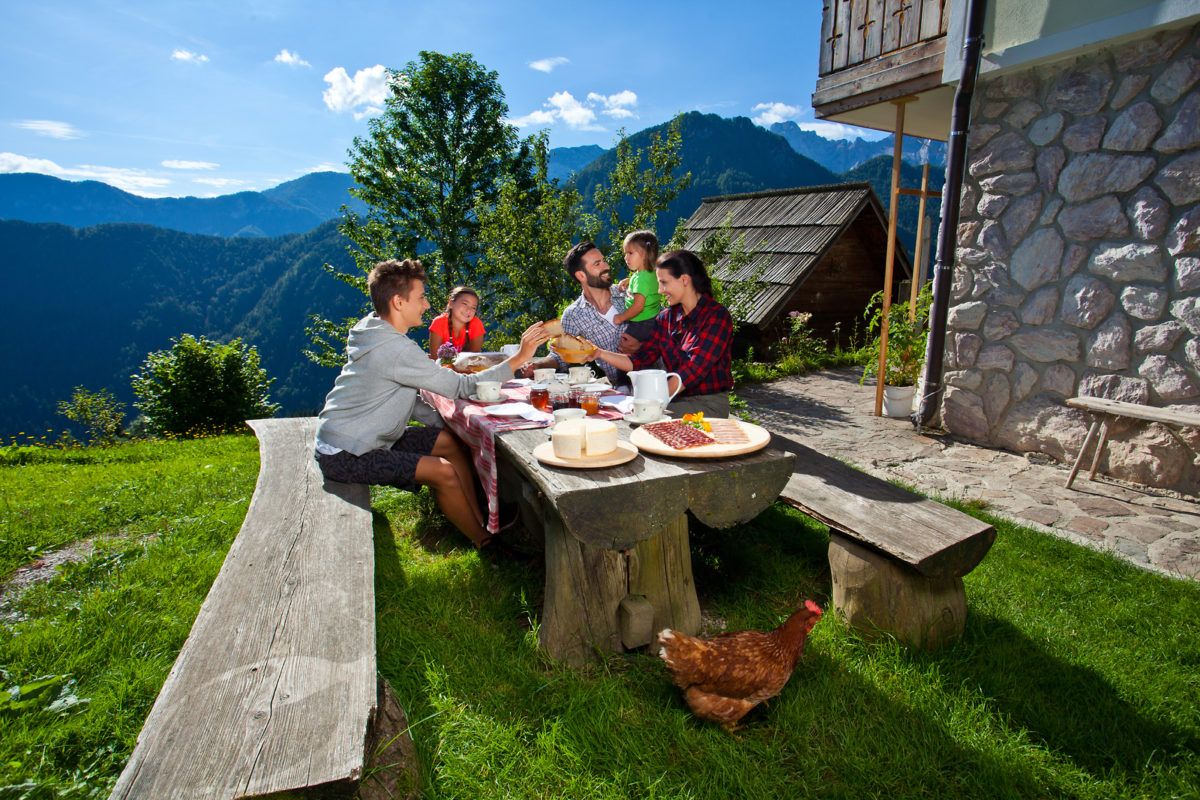Where to sleep in Slovenia, tourist farm