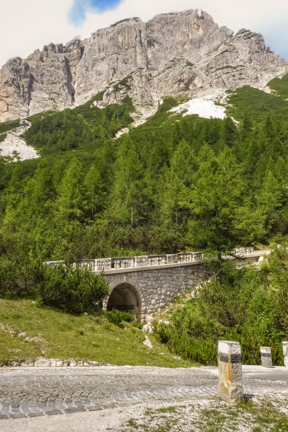 Slovenia, mountain pass