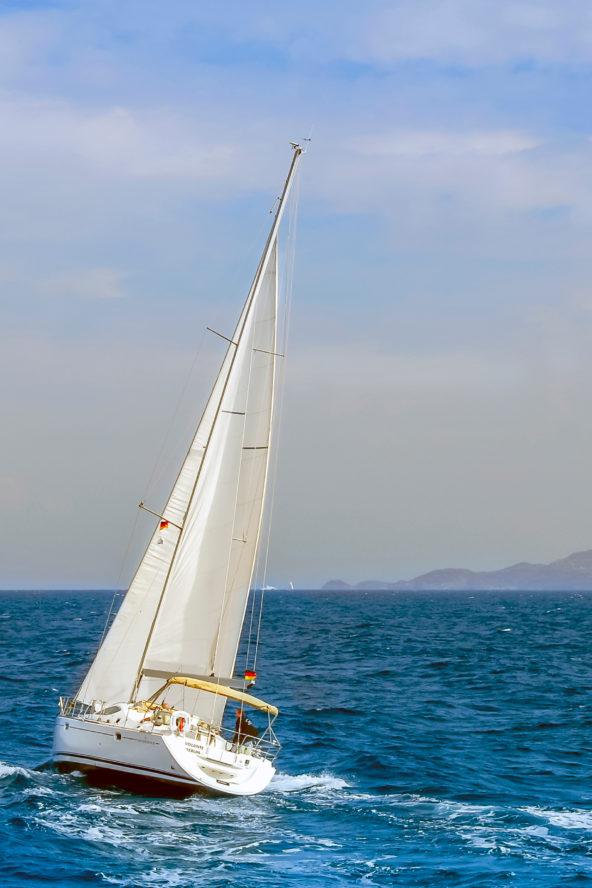 Luxurious sailing in Croatia