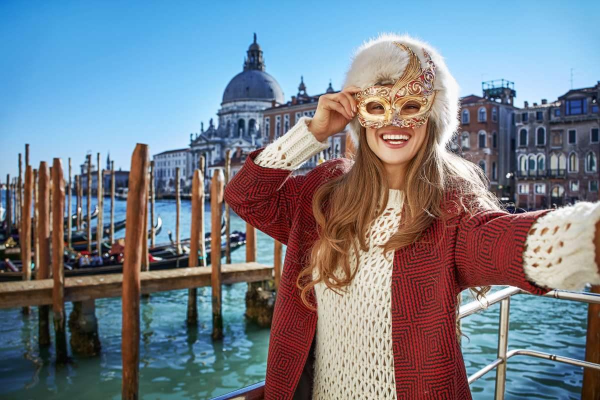Venice carnival, combine Italy with Slovenia