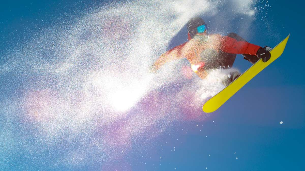 Snowboarding in Slovenia
