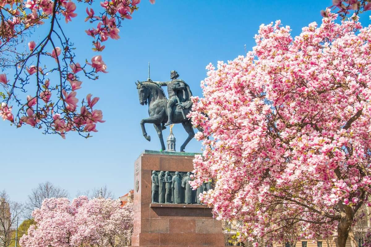 Zagreb in spring
