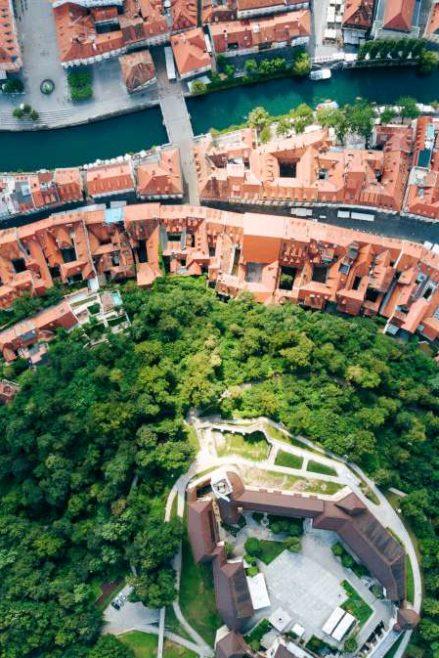 Ljubljana from the air