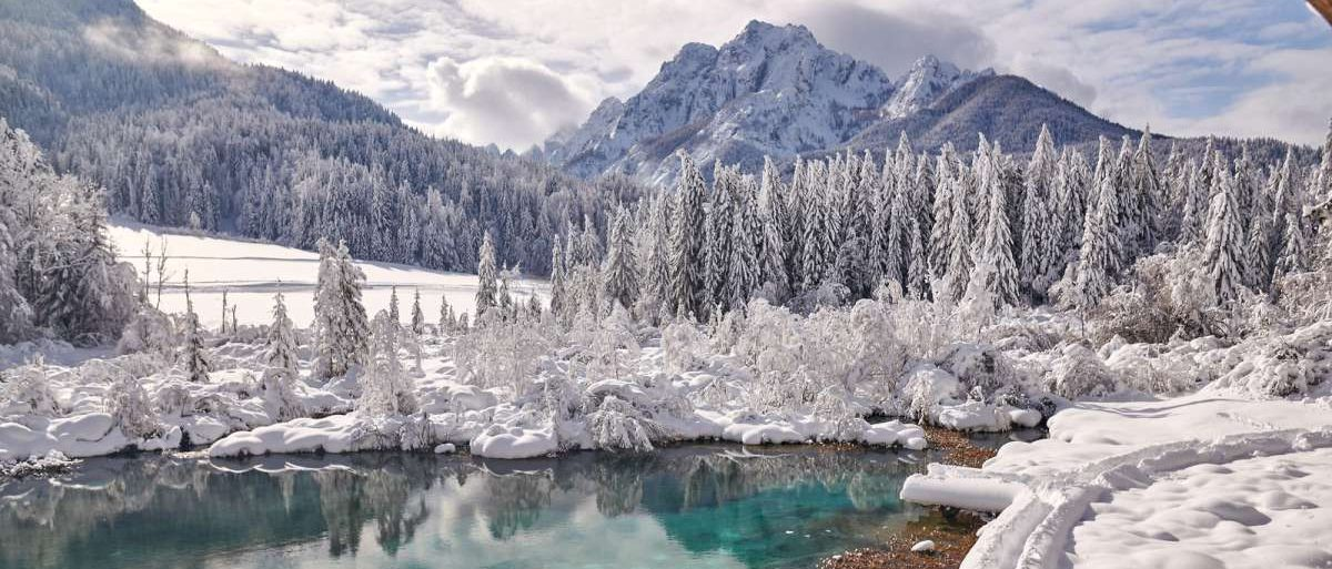 Slovenian Alps in the winter
