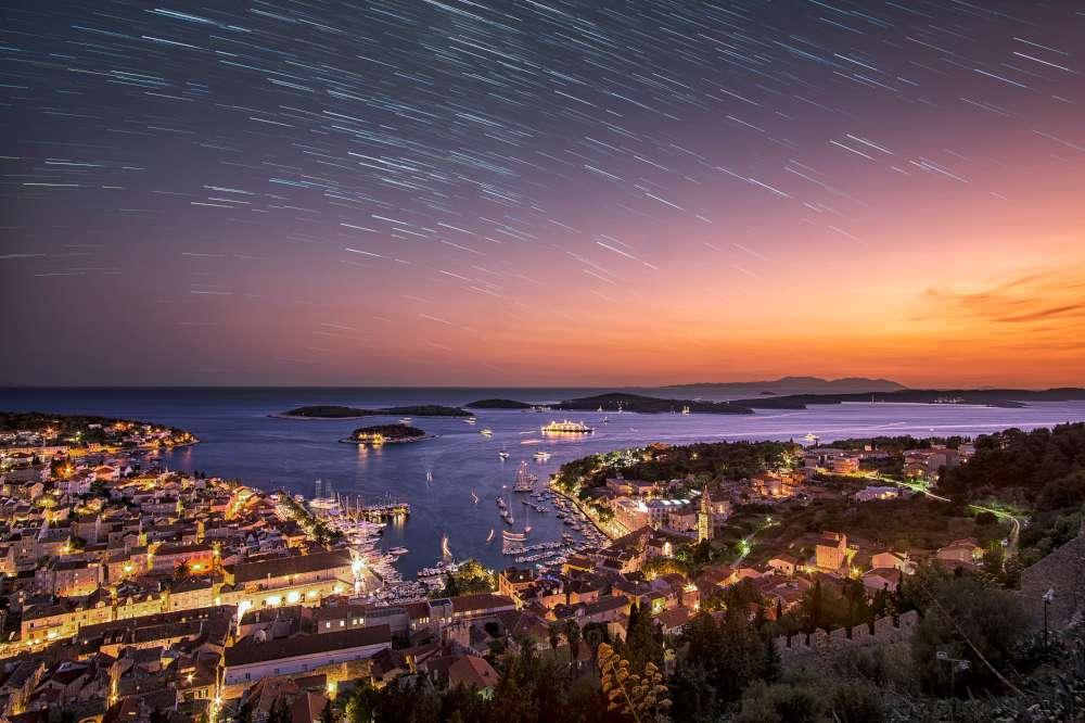 Dubrovnik by night