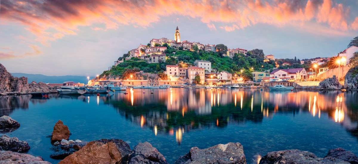 Kvarner Bay, Croatia - Island of Krk