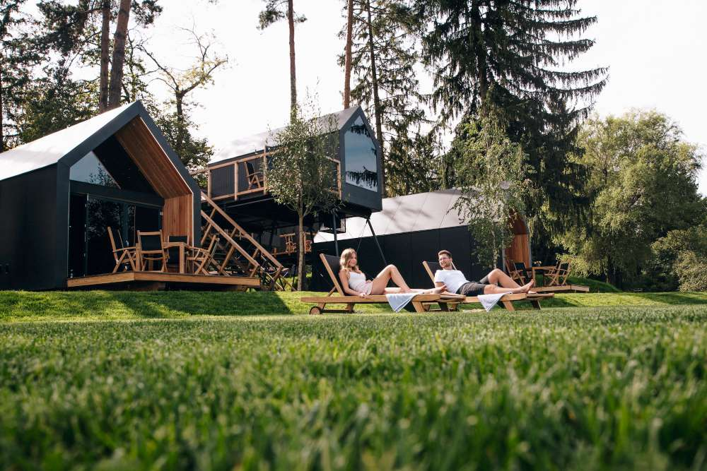 What is glamping? Glamorous camping
