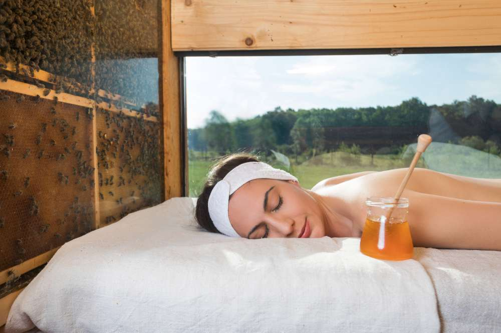 Luxurious glamping in Slovenia - honey