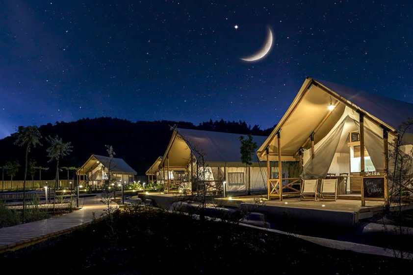 Luxurious glamping in Slovenia for couples