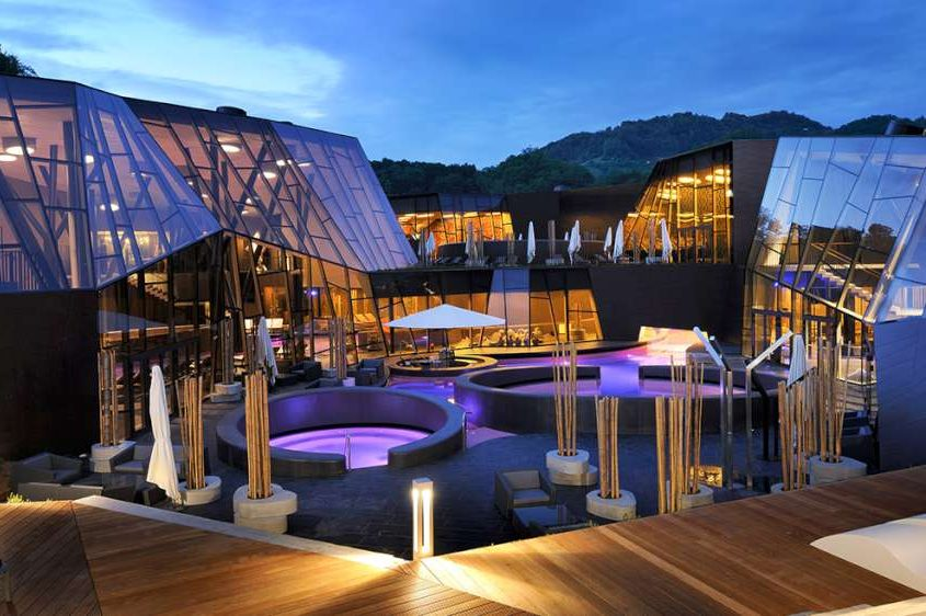 Combine glamping in Slovenia with spa retreat