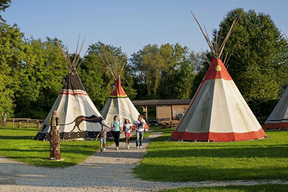 Glamping with children - Indian Village glamping, Slovenia
