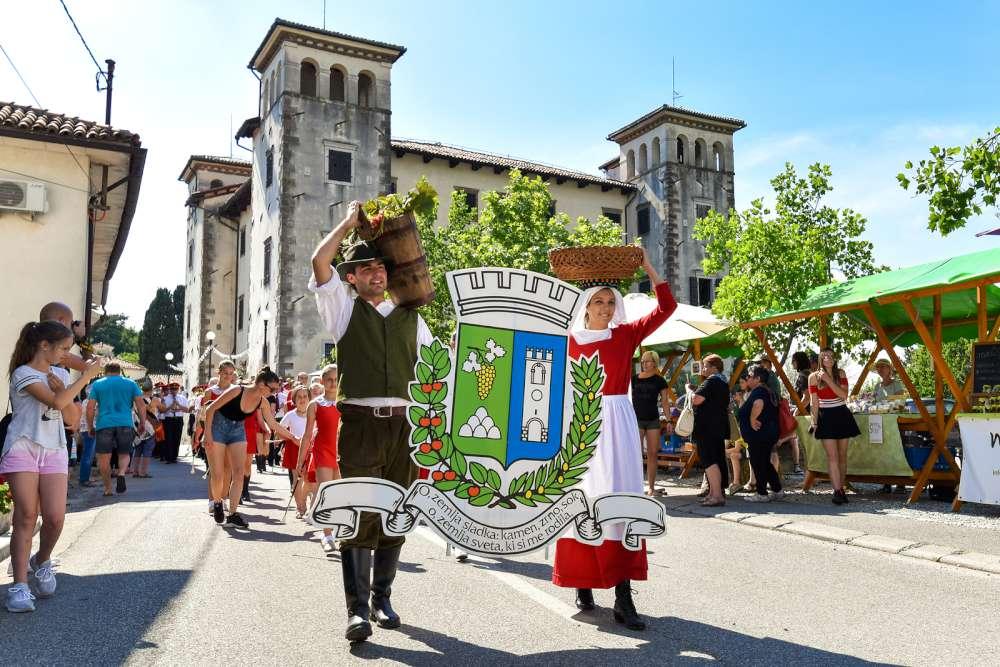 Cherry festival in Slovenia