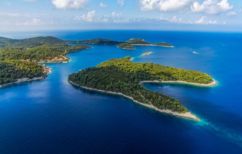 The heart shaped island in Croatia - National Park Kornati