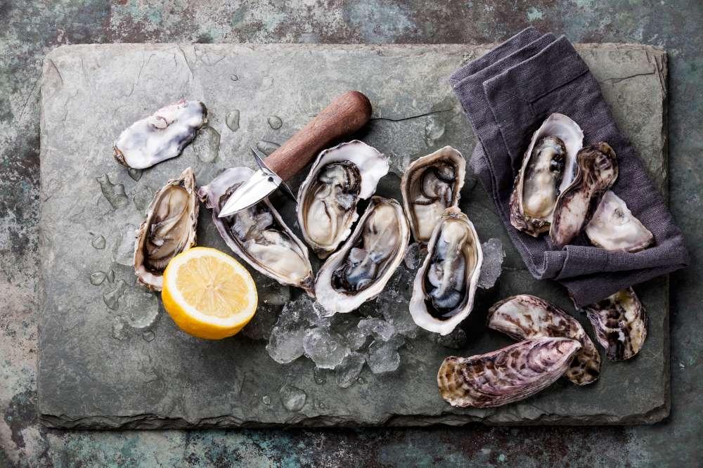 Honeymoon in Croatia - oysters