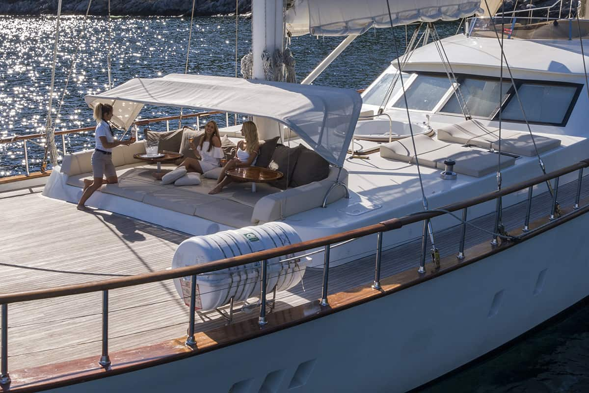 Alessandro I - deck with jacuzzi