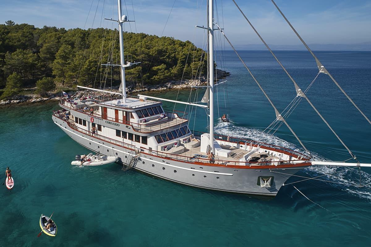 Luxury gulet holidays in Croatia: Corsario