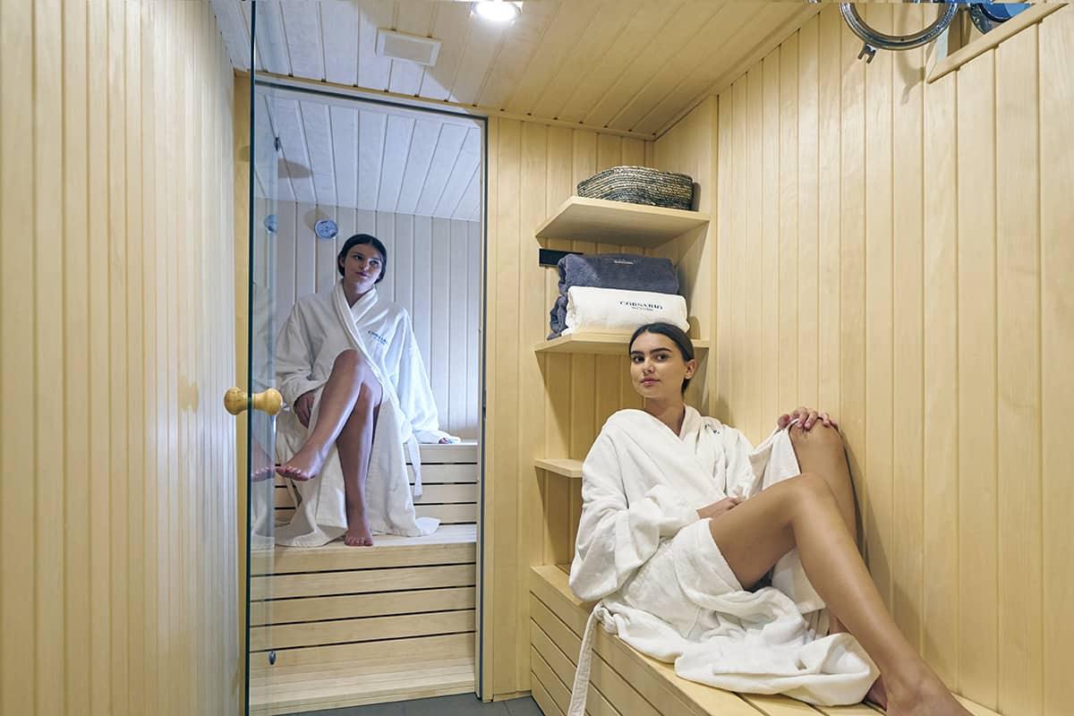 Corsario - Sauna