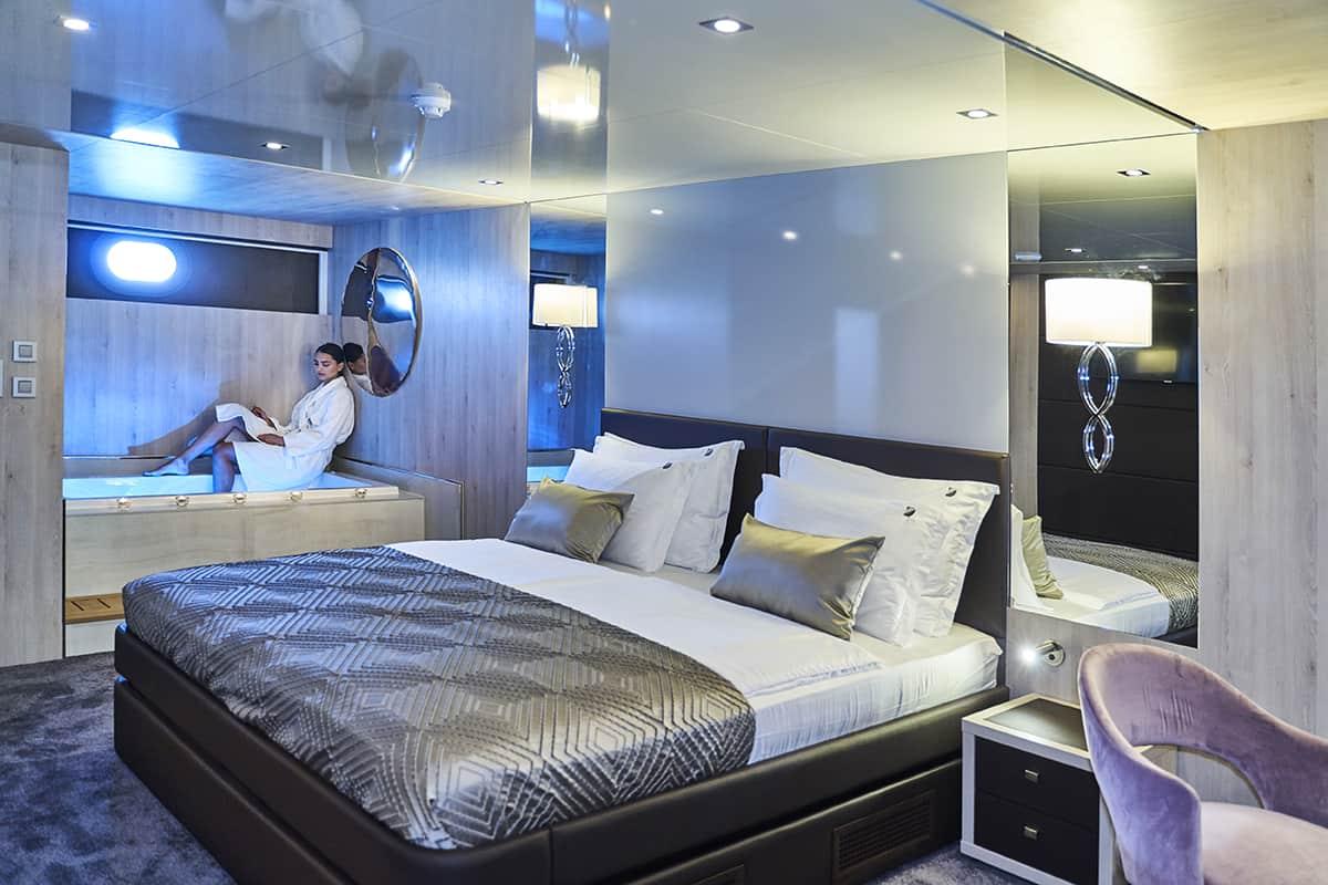 Dalmatino - master cabin