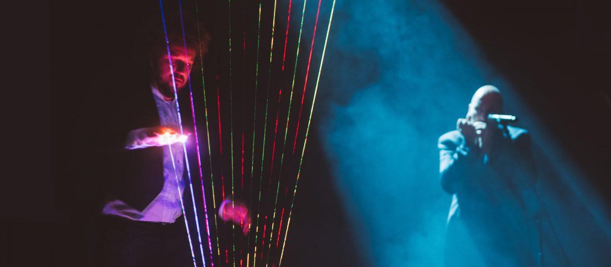 Laser music, photo - www.slovenia.info, STO, Nino Verdnik