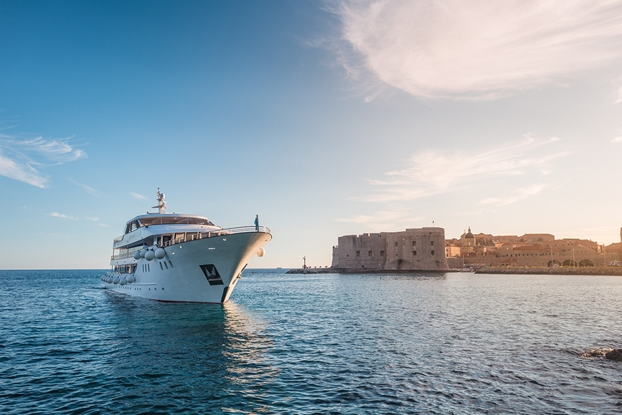 Honeymoon cruise in Croatia