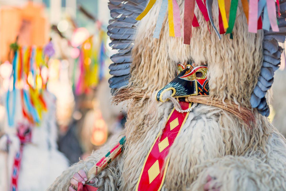 Visit Ptuj carnival in Slovenia