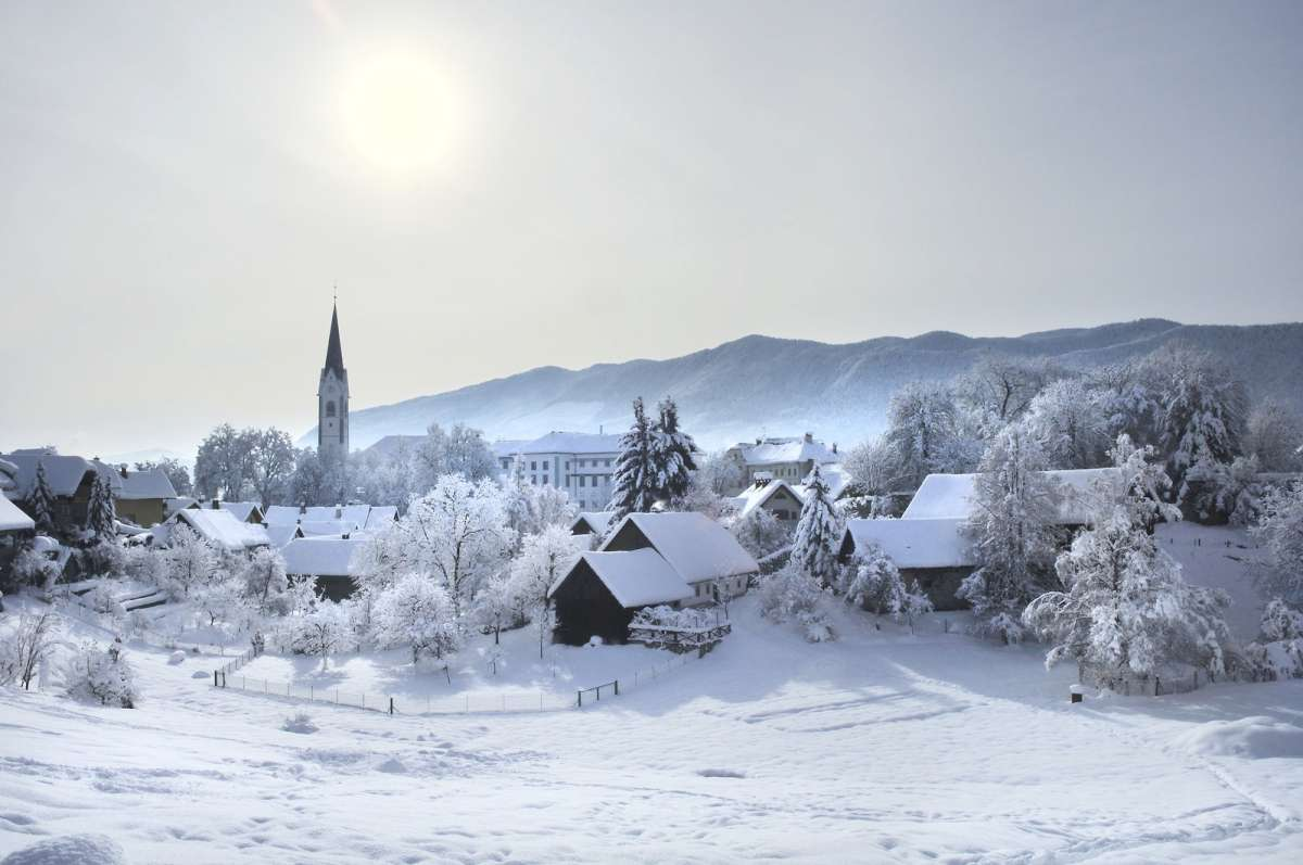 Winter vacation ideas in Slovenia
