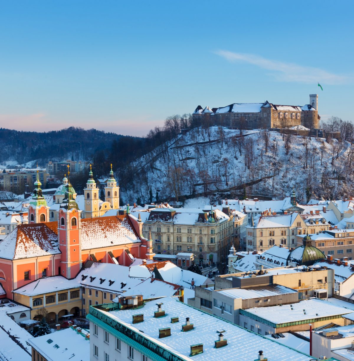 Winter vacation ideas in Ljubljana